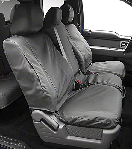 Covercraft Front Row Custom Fit Seat Cover for Select Honda Pilot Models SS3425WFGY Waterproof Grey