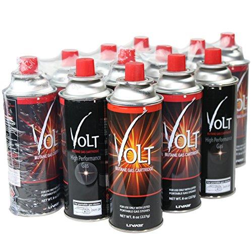 Livart Volt Butane Gas Cartridge (12 Pack)
