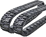 "Two 6"" Rubber Tracks for Toro Dingo TX413, TX420, TX427 Narrow and TX525 Narrow"