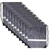 Drawstring Backpack Reflective Bags - Reflective Backpack Cinch Sacks Bulk Gym Bag