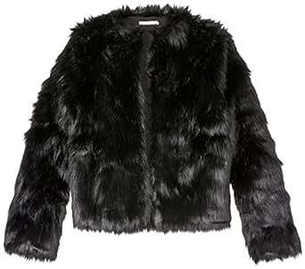 Cooper St Women's Perry Fur Jacket, Black, 12