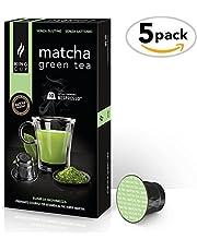 Matcha Green Tea - 5 Confezioni da 10 Capsule Compatibili Nespresso®* (50 capsule)