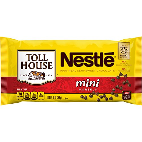 Nestle Toll House Semi-Sweet Chocolate Mini Morsels, 10 oz (Nestle Chocolate Gluten Free)