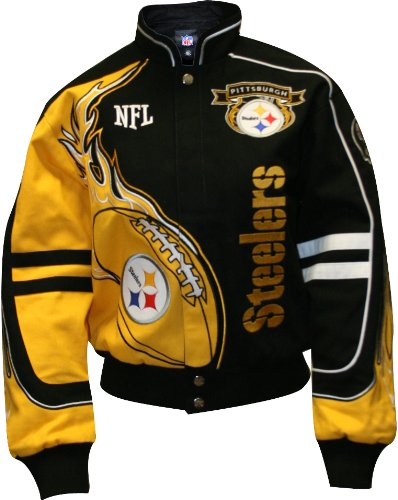 on sale a47c8 95a44 Buy NFL Pittsburgh Steelers Men's Redzone Jacket (Team, X ...