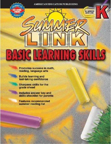 Summer Link Basic Learning Skills, Preschool-Kindergarten ebook
