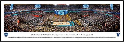 2018 NCAA Basketball Champions - Villanova Wildcats - Blakeway Panoramas with Standard (Frame Ncaa Mens Basketball)
