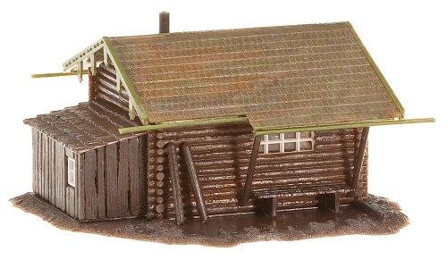 Ho Log - Faller 130293 Forest Log Cabin HO Scale Building Kit