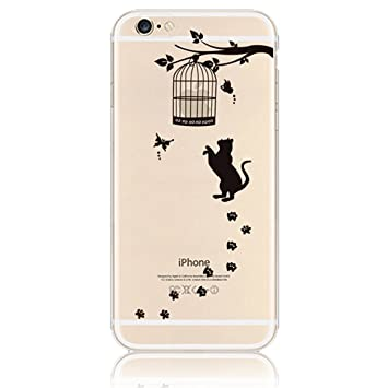 coque iphone 7 chat silicone