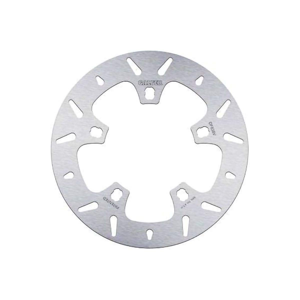 Galfer 09-19 Harley FLHX2 Solid Mount Round Brake Rotor - Front (Front) by Galfer