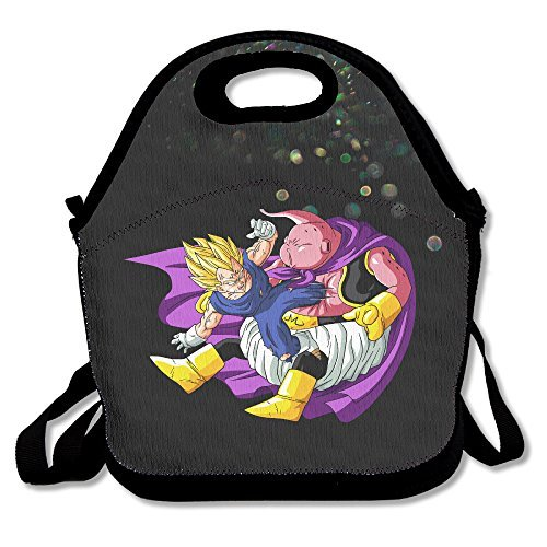 [Bakeiy Dragon Character Ball Lunch Tote Bag Lunch Box Neoprene Tote For Kids And Adults For Travel And Picnic] (Dragon Ball Costume With Tail)