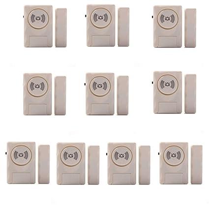 Amazon.com : Door Window Alarm 10 Pack Home Security ...