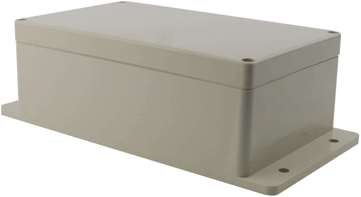 "Ogrmar Plastic Dustproof IP65 Junction Box DIY Case Enclosure (7.8""x 4.7""x 3"")"