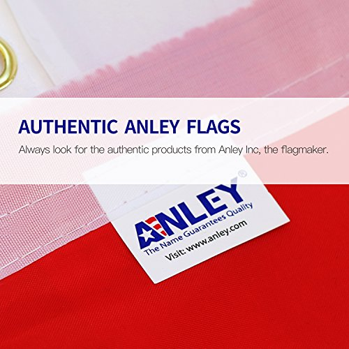 Anley Fly Breeze 3x5 Foot Thin Blue Line USA Flag - Vivid Color and UV Fade Resistant - Canvas Header and Double Stitched - Honoring Law Enforcement Officers Flags Polyester with Brass Grommets by Anley (Image #6)