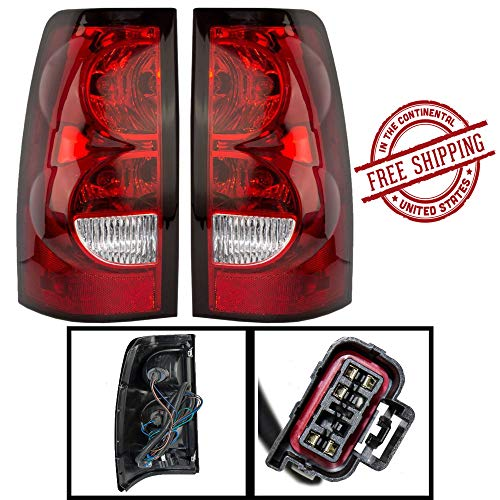 (Chevy Silverado Replacement Tail Light Assembly - 1-Pair)