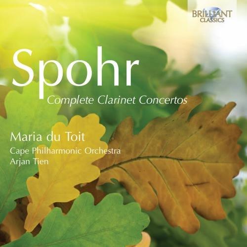 Spohr: Complete Clarinet - Buy Cape Online