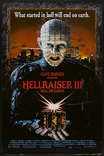 "Hellraiser III: Hell on Earth  Movie Poster 24""x36"""