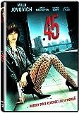 .45 (DVD) Milla Jovovich, Stephen Dorff, Angus MacFadyen, Gary Lennon, NEW!