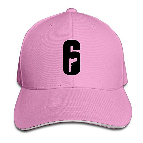 ONECAP Tom Clancy's Rainbow Six Siege Logo Adjustable Snapback Hats Baseball Caps Sandwich Cap