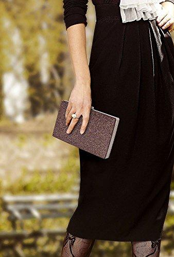 ANNA GRACE - Cartera de mano de Material Sintético para mujer Design 1 - Multi