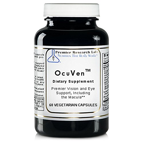 OcuVen TM, 60 Capsules - Premier Vision and Eye Support, Including the Macula Featuring Lutein and Zeaxanthin -