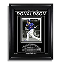 Josh Donaldson Toronto Blue Jays Engraved Framed Photo - Spotlight H