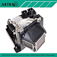1100MP Replacement Bulb with Housing for DELL 1100MP Projector (By Artki)