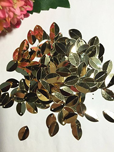 BarFeer 800Pcs 915Mm Cup Oval Folded Sequins For