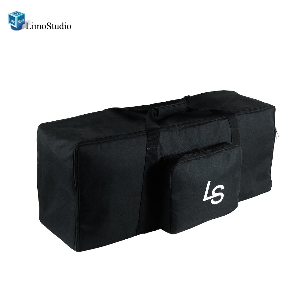 LimoStudio Photography Studio Equipment Big Size Zipper Bag with Pocket , AGG1065
