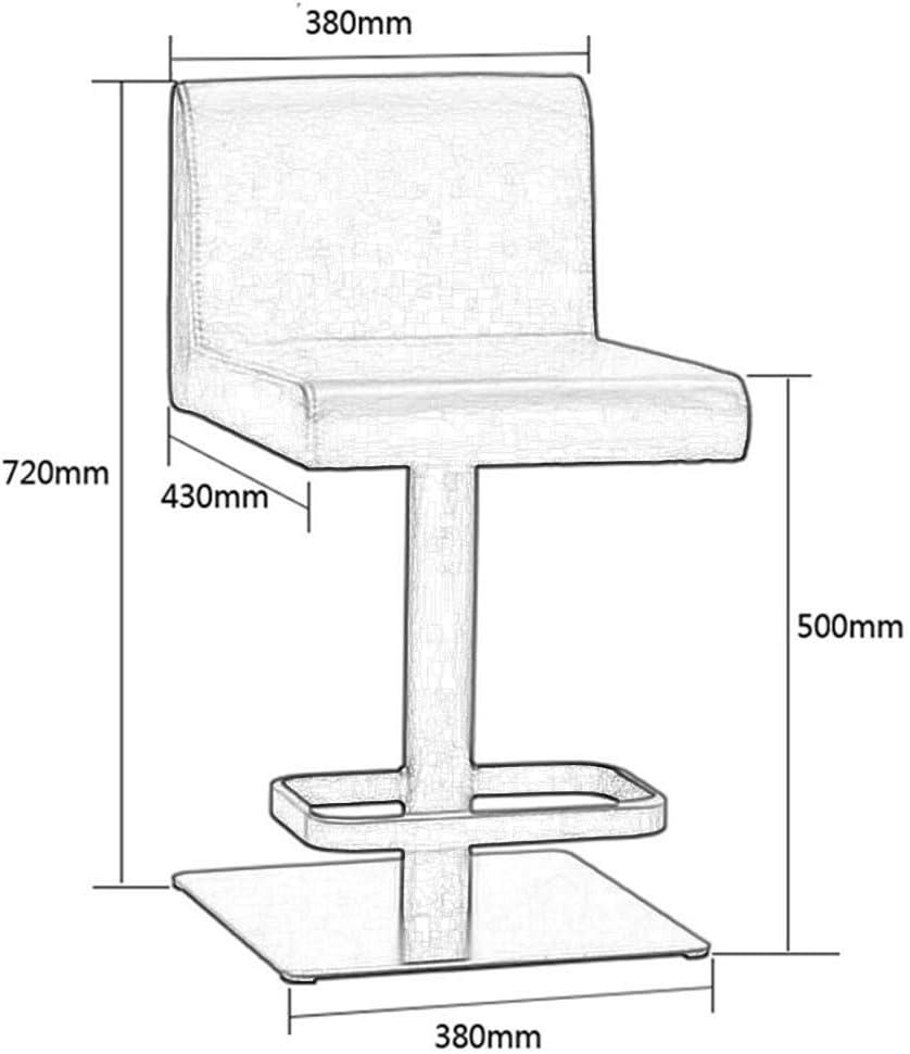 B07RJJCHQQ WEIYV- Chairs,Swivel Chairs, Bar Stool Bar Chair, Outdoor, Family, Solid Wood, Garden Stool and Bar Chair,Black, Rotating Stool Bar Stool Home High Stool Chair Jewelry Chair, Soft Seat, KTV 411NwTJcfAL.SL1001_