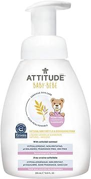 Botella natural de jabón líquido para lavavajillas para piel sensible ...
