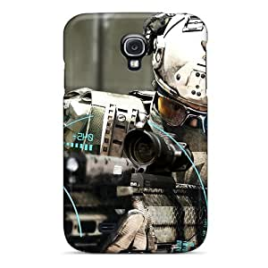 Awesome QFA6279bmUN TianMao Defender Tpu Hard Case Cover For Galaxy S4- Ghost Recon Future Soldier #5