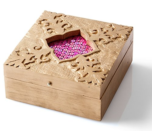 StarZebra Wooden Jewelry Box 7