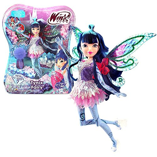 Winx Club - Tynix Fairy Doll - Musa 28cm with Magic Robe by Witty Toys