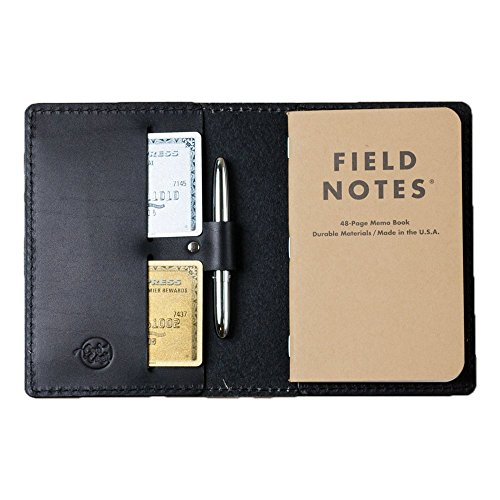 Coal Creek Leather Field Notes Cover with Pen for 3.5 x 5.5