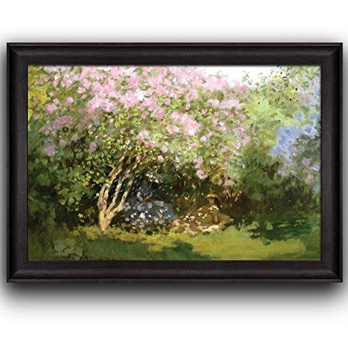 Lilacs in the Sun by Claude Monet Framed Art