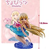 Rosy Women Game Chobits Eruda Chii Swimming Pvc Action Figure Model Collection Toy Gift 13Cm