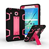 Hard case for Galaxy Tab E 8.0 [T377 Case], Hybrid Heavy Duty Shockproof Impact Resistant Armor Kickstand Defender Protection Case for Samsung Galaxy Tab E 8.0 inch T377/T375