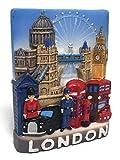 Tower Bridge Big Ben, LONDON SOUVENIR RESIN 3D FRIDGE MAGNET SOUVENIR TOURIST GIFT