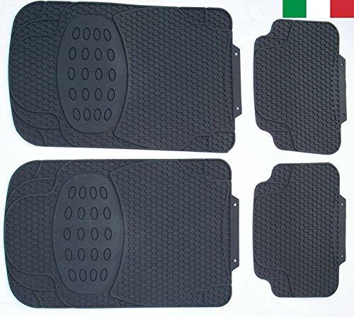 55 opinioni per Cenni 27853 – Set 4 Tappeti Auto in Gomma Inodore, Universali, Sagomabili, Made