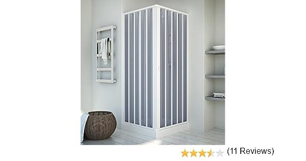 Cabina de ducha | esquina. | Sistema Puerta plegable | Kappa (PVC ...