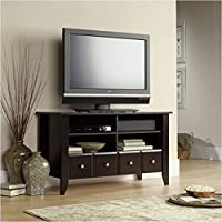 Pemberly Row Espresso TV Stand