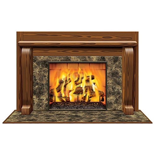 Fireplace Insta-View Party Accessory (1 count) (1/Pkg)]()