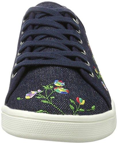 s.Oliver Damen 23647 Sneaker Blau (NAVY 805)