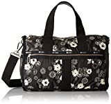 LeSportsac Women's Cr Small Weekender, Autumn Floral Black