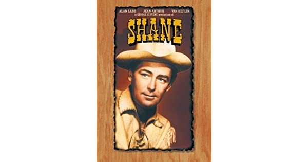 ALAN LADD SHANE POSTER STYLE  Y GREAT ART UNIQUE AT ONLY  $4.99