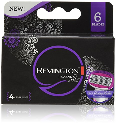 Remington Products Radiant Refills 4 Count