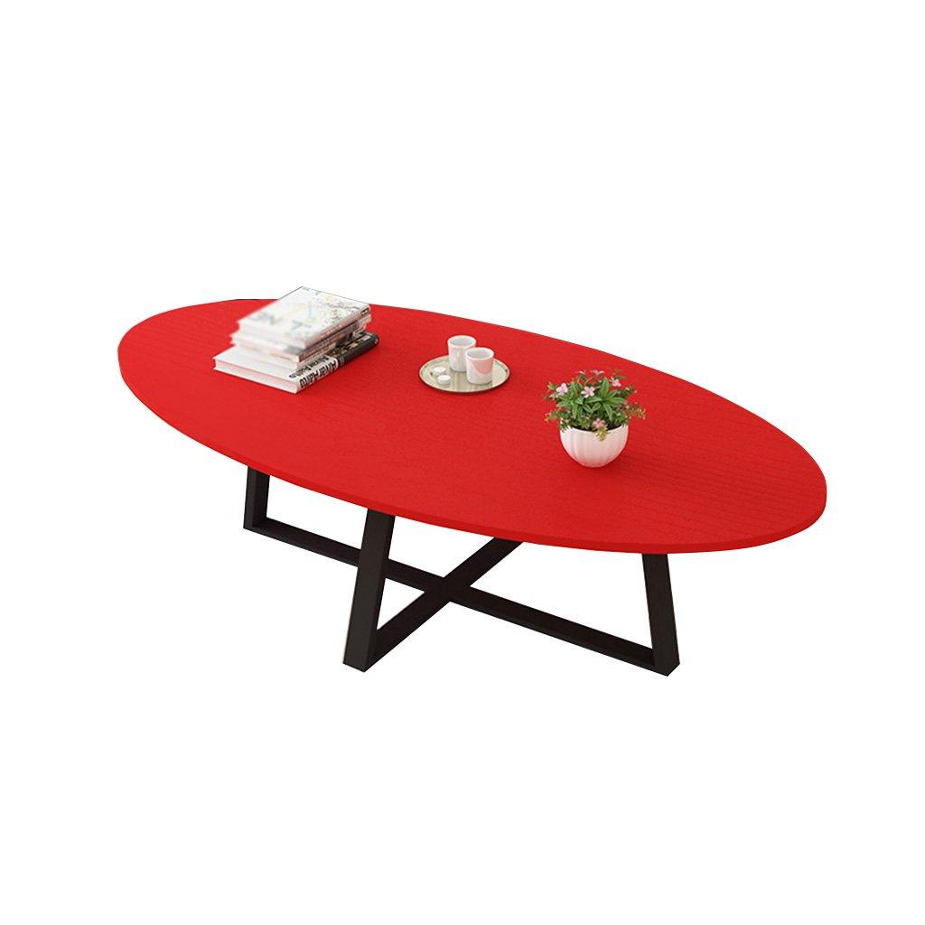 クリエイティブテーブルソリッドウッドリビングルームクリエイティブコーヒーテーブルベッドルーム、レストラン多機能折りたたみテーブルスタディコンピュータテーブル45x50x100CM ## (色 : Red) B07K6J13M8 Red Red