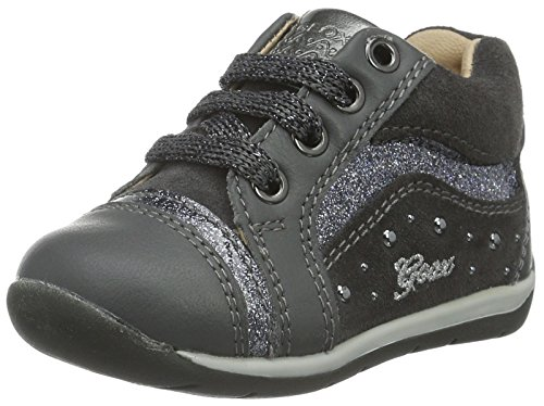 Geox B Each Girl a, Botines de Senderismo Para Bebés Gris (DK Grey C9002)