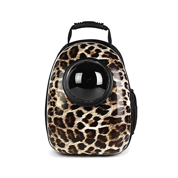 Ocamo Breathable Capsule Pet Backpack Carrier Travel Bags for Cat Dog Puppy Small Animals 12.6″*11.4″*16.5″ Click on image for further info.