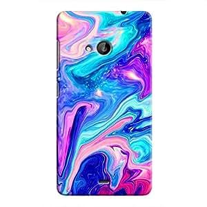 Cover it up Psydelic Dreams Microsoft Lumia 535 Hard Case - Blue